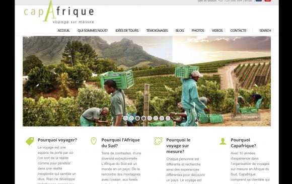 Website Design | Tourism & Tour Operator