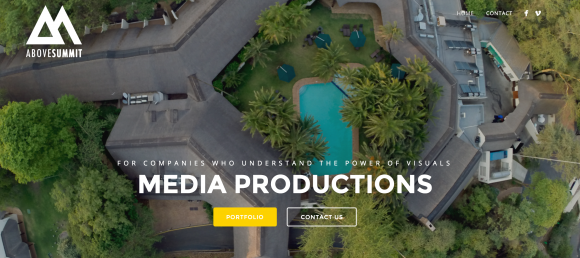 website design for production company
